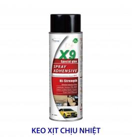 KEO XỊT CHỊU NHIỆT X9